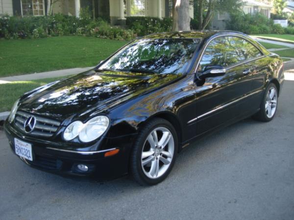 2006 MERCEDES CLK-CLASS blackblack automatic 125993 miles Stock 2872 VIN WDBTJ56JX6F166621