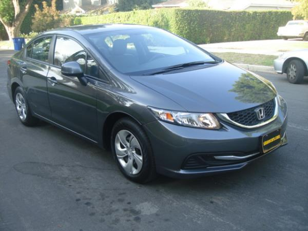 2013 HONDA CIVIC graygray 5 speed automatic 23933 miles Stock 2874 VIN 2HGFB2F5XDH595123