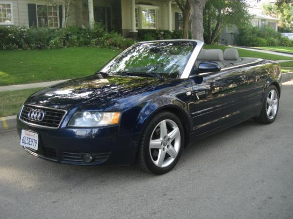 2006 AUDI A4 bluegray automatic 85082 miles Stock 2876 VIN WAUAC48H16K005540