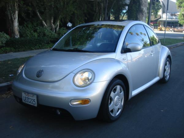2001 VOLKSWAGEN NEW BEETLE silvergray automatic 70005 miles Stock 2877 VIN 3VWCK21C91M44543