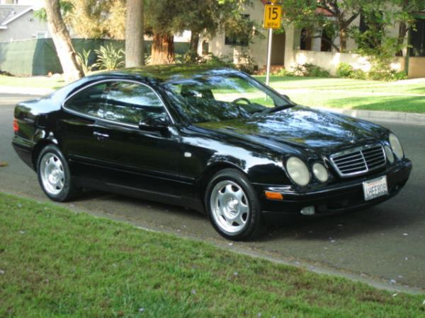 1999 MERCEDES CLK-CLASS blackblack automatic 89375 miles Stock 2879 VIN WDBLJ65G8XF112246