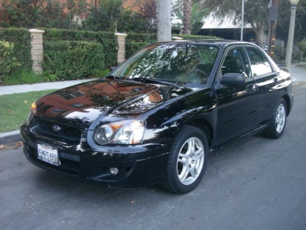 2005 SUBARU IMPREZA blackblack 4 speed automatic 114760 miles Stock 2880 VIN JF1GD67515H512
