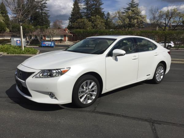 Car Rental In Walnut Creek Ca 2014 LEXUS ES 300H