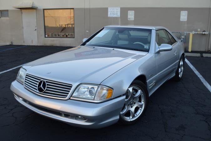 MERCEDES-BENZ SL500 SILVER ARROW