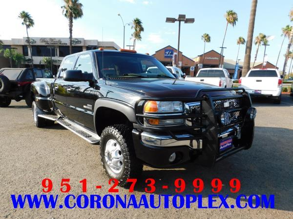 GMC SIERRA 3500 DUALLY SLT