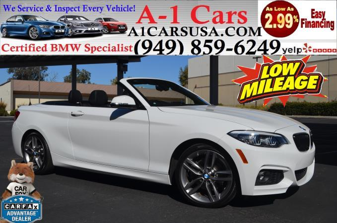 BMW 2 SERIES 230I CONVERTIBLE 230I
