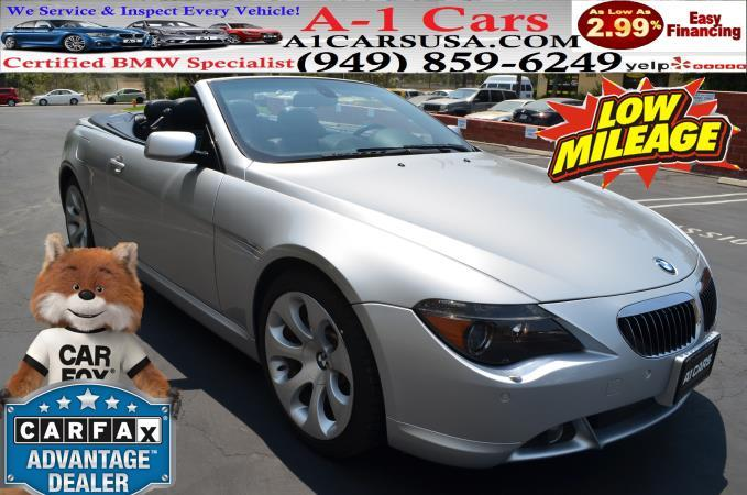 BMW 6 SERIES 650I CONVERTIBLE 650CIC