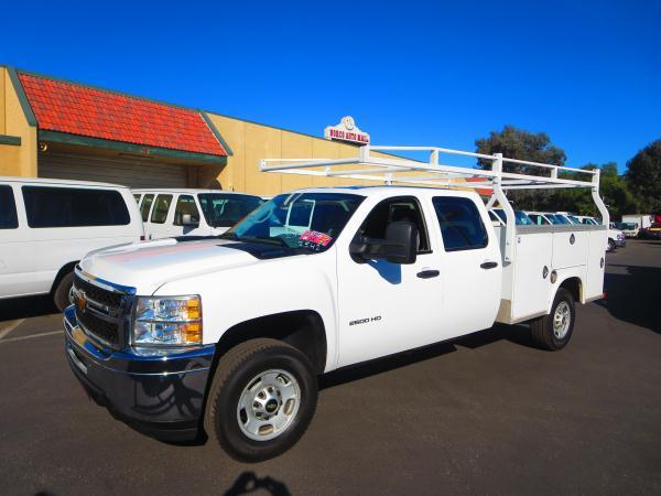 Used Work Trucks >> Details About 2013 Chevrolet C2500 4x4 Work Truck