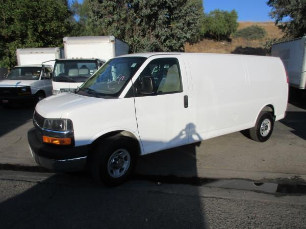 CHEVROLET EXPRESS 2500 WORK VAN