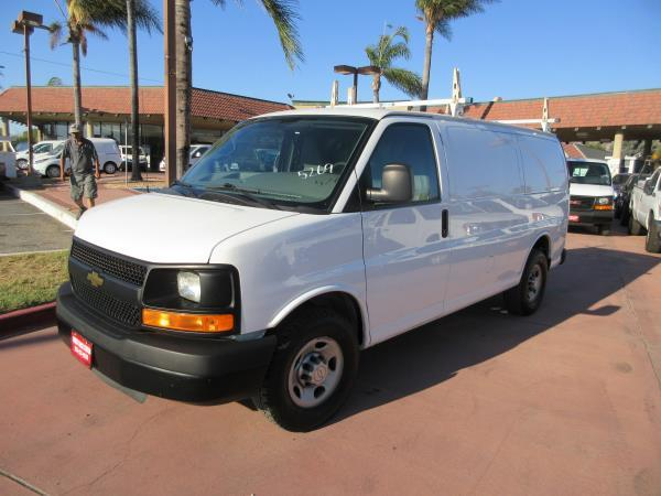 CHEVROLET G2500 WORK VAN