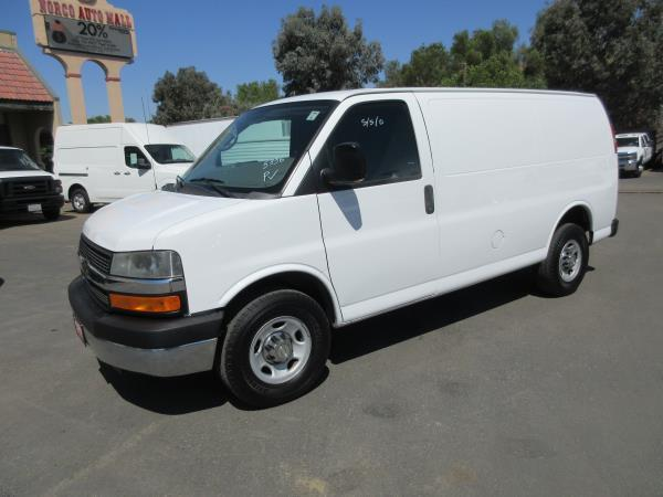 CHEVROLET EXPRESS 3500 WORK VAN