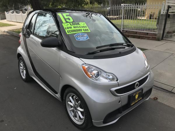 SMART FORTWO ELECTRIC DRIVE ELECTRIC DRIVE