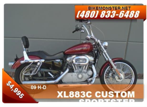 H-D XL883C  CUSTOM SPORTSTER