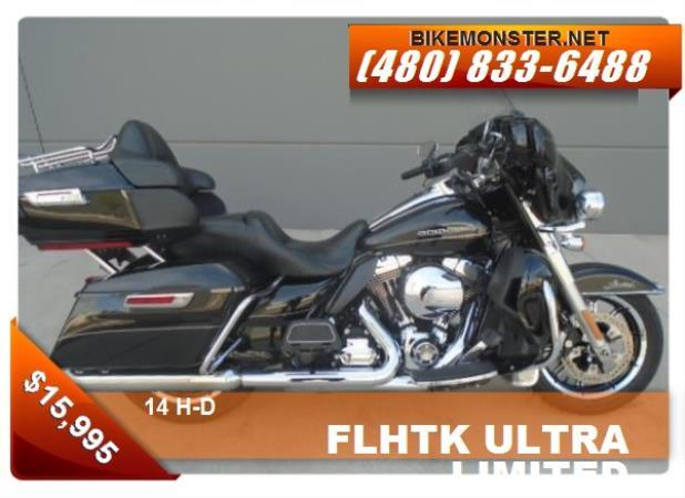 H-D FLHTK ULTRA CL LIMITED
