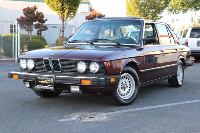 BMW 5 SERIES 528E