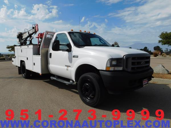 FORD F-450  XL  ACTUAL MILES BASE